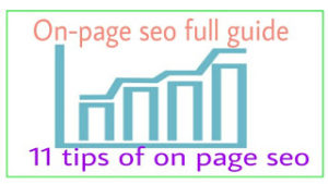 On page Seo kya hai, Post ko fully optimised कैसे करें ?