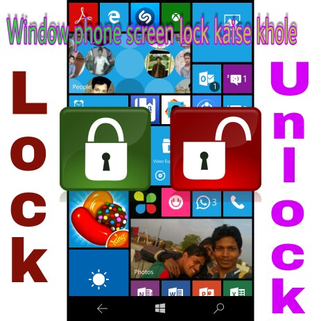 Windows Phone Forget Lock Screen Pin kaise khole ?