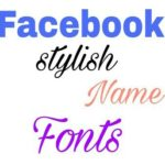 Facebook-name-font-style-change