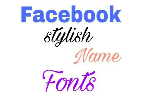 how to change the font style of name in facebook