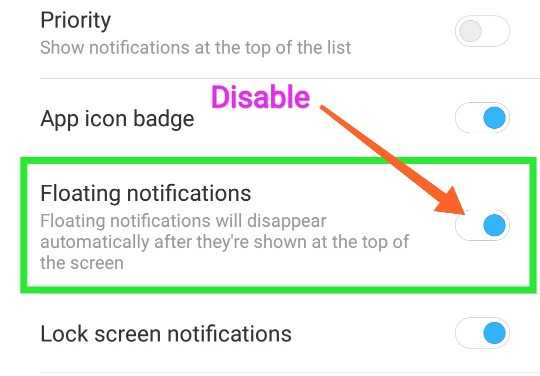 Whatsapp Floating Pop-up Notification Band Kaise Kare